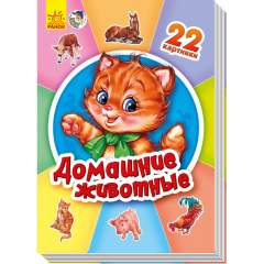 22 картинки: Домашние животные (рус)