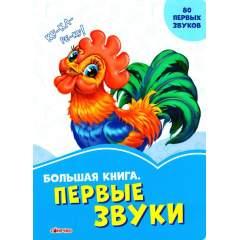 Васильковые книги. Большая книга. Первые звуки